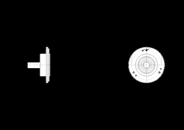 POSITAL IXARC UCD-IPT00-XXXXX-4A7S-PRD Incremental Rotary Encoder