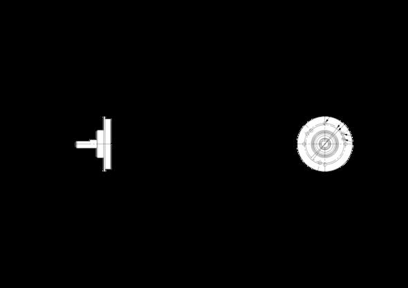 POSITAL IXARC UCD-IPT00-XXXXX-VCAA-5RW Incremental Rotary Encoder