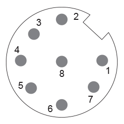 POSITAL IXARC UCD-IPH00-XXXXX-H6TS-URW Incremental Rotary Encoder