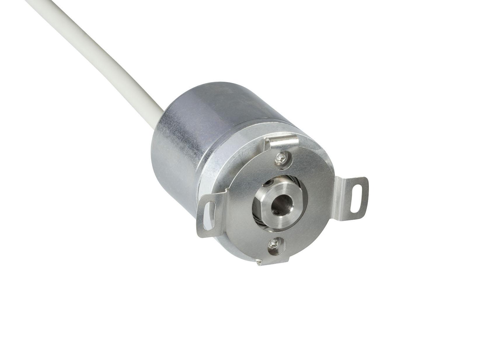 POSITAL IXARC MCD-AV004-0012-R06A-CAW Analog Voltage Absolute Rotary Encoder
